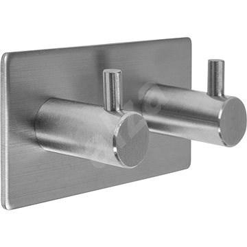 Dvojitý háček nalepovací 3M Steely - Háček do koupelny