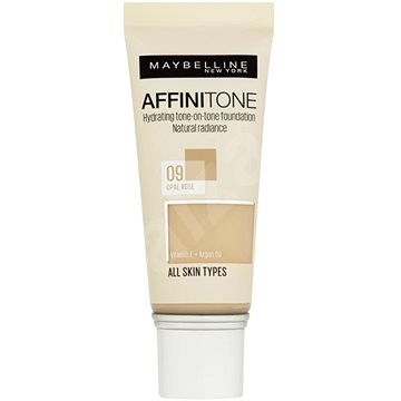 MAYBELLINE NEW YORK Affinitone Foundation 09 Opal Rose 30 ml - Make-up