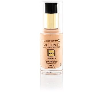 MAX FACTOR Facefinity All Day Flawless 3in1 Foundation SPF20 50 Natural 30 ml - Make-up