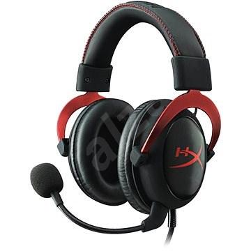 HyperX Cloud II Headset červená - Herní sluchátka