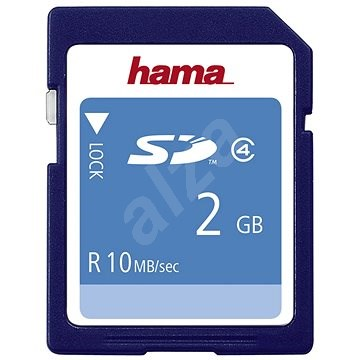 Hama SD 2GB Class 4 - Paměťová karta