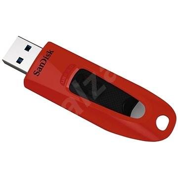 SanDisk Ultra 64GB červený - Flash disk