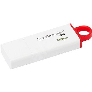 Kingston DataTraveler I G4 32GB červený - Flash disk