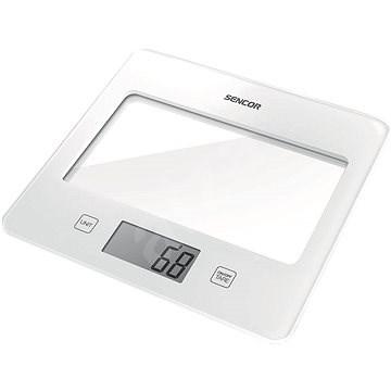 SENCOR SKS 5020WH bílá - Kuchyňská váha