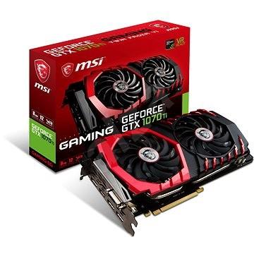 MSI GeForce GTX 1070 Ti GAMING 8G - Grafická karta