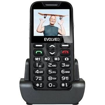 EVOLVEO EasyPhone XD černo-stříbrný - Mobilní telefon