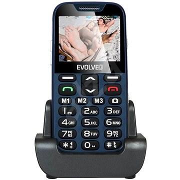 EVOLVEO EasyPhone XD modro-stříbrný - Mobilní telefon