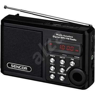Sencor SRD 215 B - Rádio