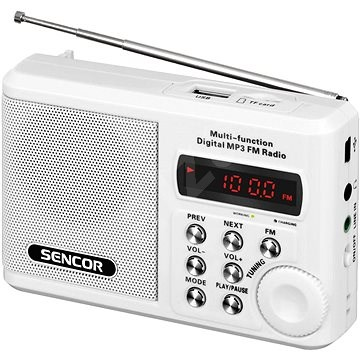 Sencor SRD 215 W - Rádio