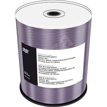 Mediarange DVD-R 4.7 GB 16x spindl 100 ks Inkjet Printable - Média