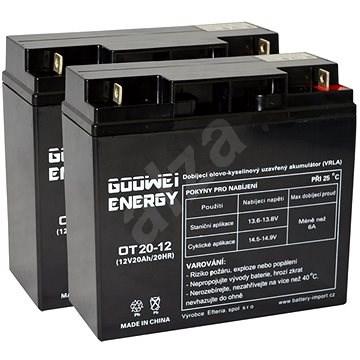 GOOWEI RBC7 - Battery replacement kit - Nabíjecí baterie