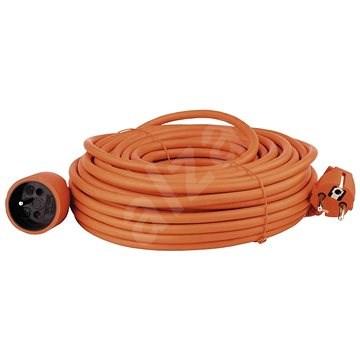 Emos Prodlužovací kabel 25m, oranžový - Prodlužovací kabel