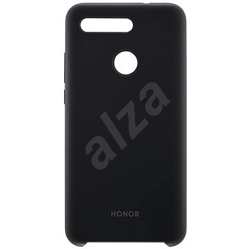 Honor View 20 Silicone Protective case Black  - Kryt na mobil