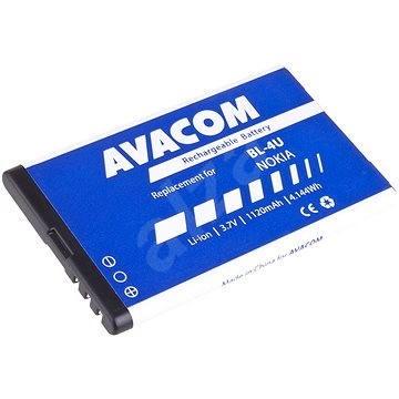 Avacom za Nokia 5530, CK300, E66, 5530, E75, 5730, Li-ion 3.7V 1120mAh (náhrada BL-4U) - Baterie pro mobilní telefon