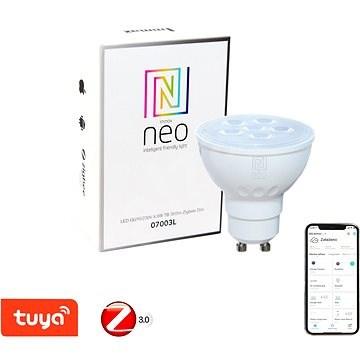 Immax Neo GU10 4,8W teplá bílá, stmívatelná, Zigbee 3.0 - LED žárovka