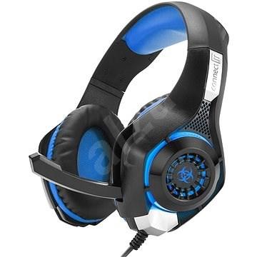 CONNECT IT CHP-4510-BL Gaming Headset BIOHAZARD modrá - Herní sluchátka
