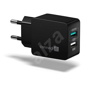 CONNECT IT Fast Charge CWC-2015-BK černá - Nabíječka do sítě