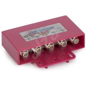 přepínač Diseqc ze 4 konvertorů, venkovní provedení, F konektory - Přepínač