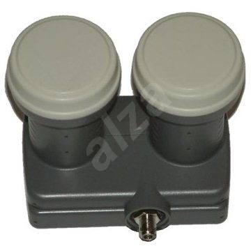 Single Monoblock Inverto, 2x konvertor 0.2 DBi, 1x konektor F  - Konvertor