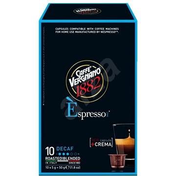 Vergnano Espresso Decafeinato 10ks - Kávové kapsle