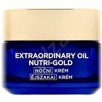 ĽORÉAL PARIS Nutri-Gold Extraordinary Oil Night Cream 50 ml - Pleťový krém
