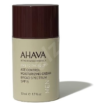AHAVA Time to Energize Age Control Moisturizing Cream for Men SPF15 50ml - Men's Face Cream