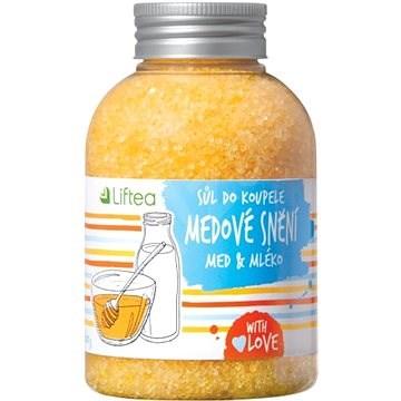 LIFTEA Koupelová Sůl Medové Snění 600 g - Koupelová sůl