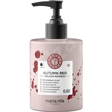 MARIA NILA Colour Refresh 6.60 Autumn Red 300 ml - Přírodní barva na vlasy