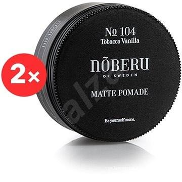 NOBERU Tobacco Vanilla Pomade 2 × 80 ml - Pomáda na vlasy
