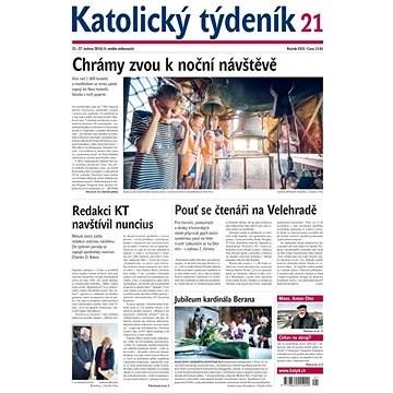 Katolický týdeník - 21/2019 - Elektronický časopis