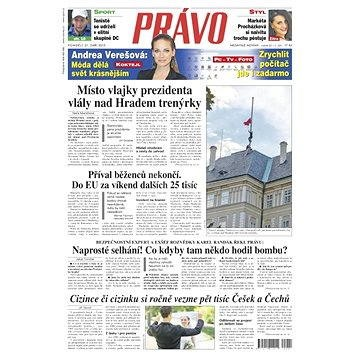 Právo - 21-09-2015 - Elektronické noviny