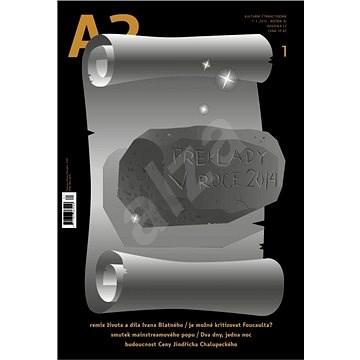 A2 kulturní čtrnáctideník - 1/2015 - Elektronický časopis