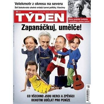 Týden - 22/2015 - Elektronický časopis