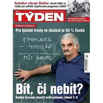 Týden - 42/2015 - Elektronický časopis