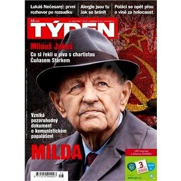 Týden - 16/2016 - Elektronický časopis