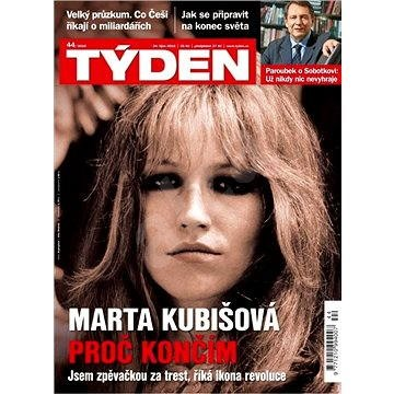 Týden - 44/2016 - Elektronický časopis