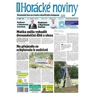 Horácké noviny - Čtvrtek 15.10.2020 č. 057 - Elektronické noviny