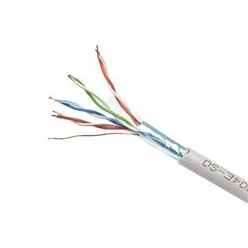 Gembird, drát, CAT5E, FTP, LSOH, 305m/box - Síťový kabel