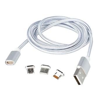 MCX 014 silver + pouzdro EVA - Datový kabel