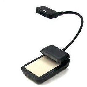 LED BW-B černá - Ebook lampička