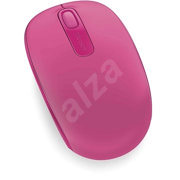 Microsoft Wireless Mobile Mouse 1850 Magenta - Myš