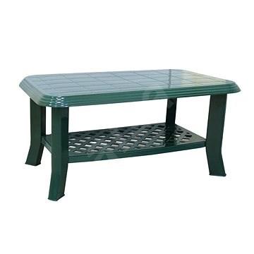 MEGAPLAST CLUB 90x55x44 cm, tm. zelená - Zahradní stůl