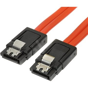 ROLINE datový k HDD SATA 3.0. 1xHDD, 0.5m, západky - Datový kabel