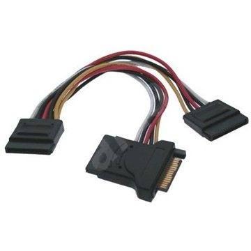 ROLINE napájecí SATA -> 3x SATA, 0.15m - Datový kabel
