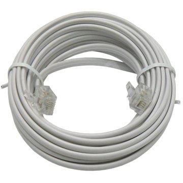 OEM telefonní s konektory RJ11, 6m - Telefonní kabel