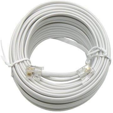 OEM telefonní s konektory RJ12, 15m - Telefonní kabel