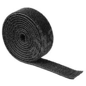 Univerzální stahovací páska 1m černá - Organizér kabelů