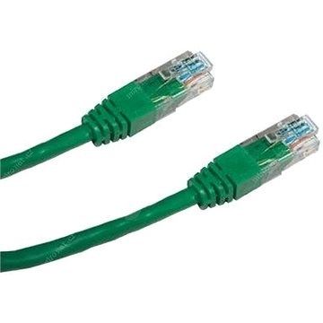 Datacom CAT5E UTP zelený 2m - Síťový kabel