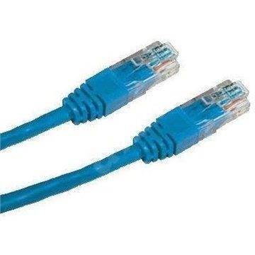 Datacom CAT6, UTP, 3m, modrý - Síťový kabel
