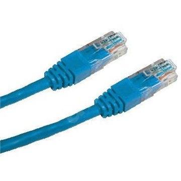Datacom CAT5E UTP modrý 7m - Síťový kabel